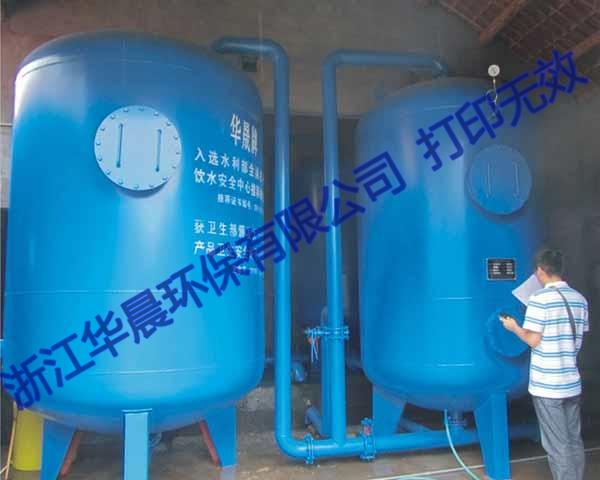 全自动压力式一体化净水器