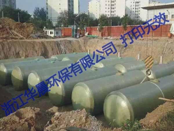 昆山玻璃钢地埋式污水处理器