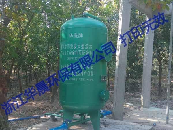 天津压力式一体化净水器