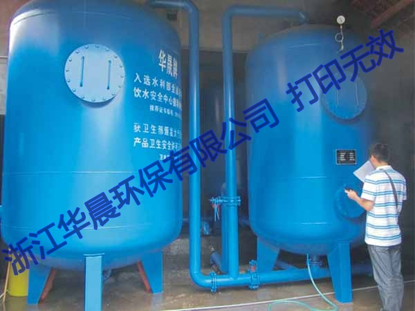 昆山全自动压力式一体化净水器